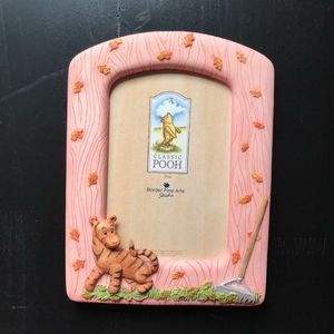 Vintage Winnie the Pooh Picture Frame